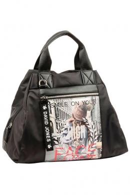 5960-4 BLACK Женская сумка David_Jones