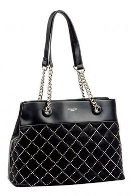 5964-2 BLACK Женская сумка David_Jones