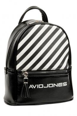 5965-4 BLACK Сумка-рюкзак David Jones