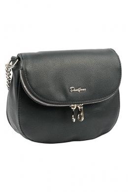 6100-1 BLACK Женская_сумка кросс_боди David Jones
