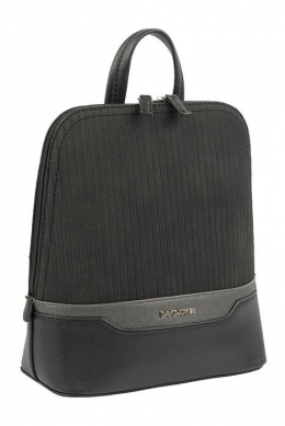 6103-2 BLACK Сумка-рюкзак David_Jones