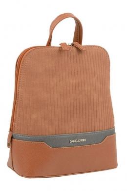 6103-2 COGNAC Сумка-рюкзак David_Jones