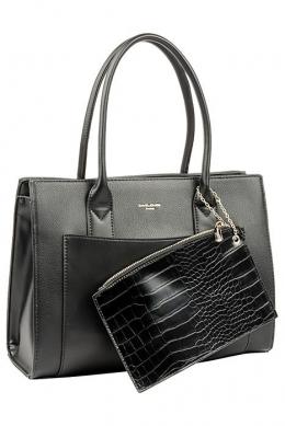 6105-2 BLACK Женская_сумка David_Jones