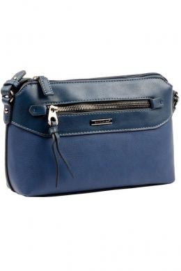 6110-1 D.BLUE Женская_сумка кросс_боди David Jones