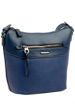 6110-2 D.BLUE Женская_сумка кросс_боди David Jones
