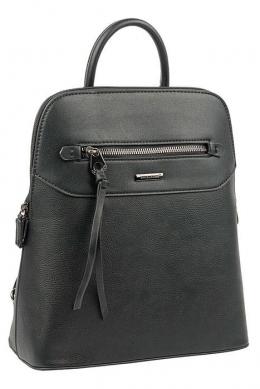6110-3 BLACK Сумка-рюкзак David Jones