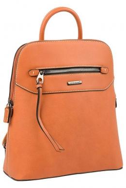 6110-3 COGNAC Сумка-рюкзак David Jones