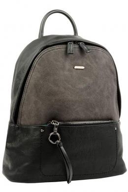 6113-2 BLACK Сумка-рюкзак David Jones
