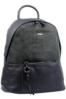 6113-2 D.BLUE Сумка-рюкзак David Jones
