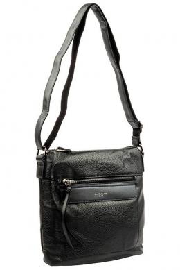 6114-1 BLACK Женская_сумка кросс_боди David Jones