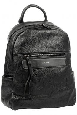 6114-2 BLACK Сумка-рюкзак David Jones