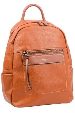 6114-2 COGNAC Сумка-рюкзак David Jones