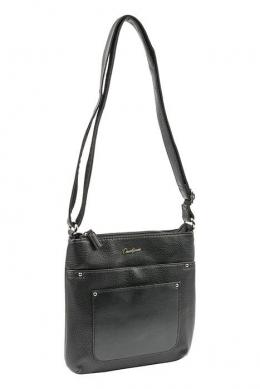 6115-2 BLACK Женская_сумка кросс_боди David Jones