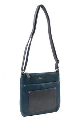 6115-2 D.BLUE Женская_сумка кросс_боди David Jones