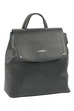 6124-2 BLACK Сумка-рюкзак David Jones