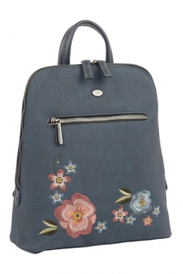 6130-3 D.BLUE Сумка-рюкзак David_Jones
