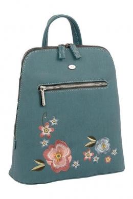 6130-3 D.GREEN Сумка-рюкзак David_Jones
