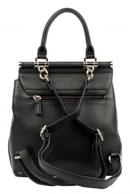 6131-2 BLACK Сумка-рюкзак David Jones
