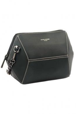 6132-1 BLACK Женская_сумка кросс_боди David Jones