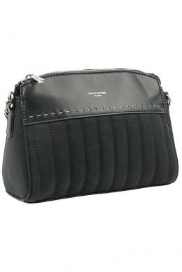 6140-1 BLACK Женская_сумка кросс_боди David Jones
