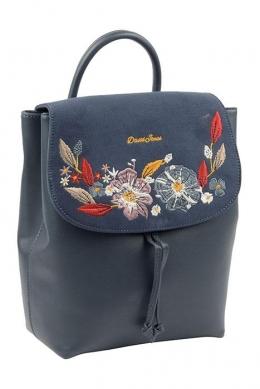 6141-4 D.BLUE Сумка-рюкзак David_Jones