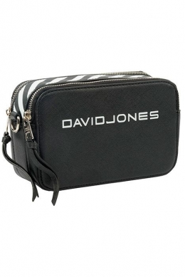 6169-1 BLACK Женская_сумка кросс_боди David Jones