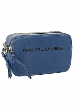 6169-1 BLUE Женская_сумка кросс_боди David Jones