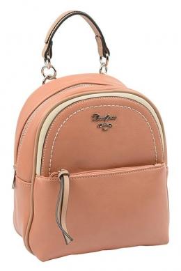 6204-3 PINK Сумка-рюкзак David Jones