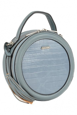 6206-1 L.BLUE Женская_сумка кросс-боди David Jones