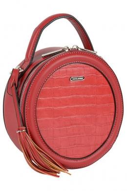 6206-1 RED Женская_сумка кросс-боди David Jones