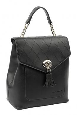 6209-2 BLACK Сумка-рюкзак David_Jones