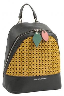 6246-3 BLACK Сумка-рюкзак David Jones