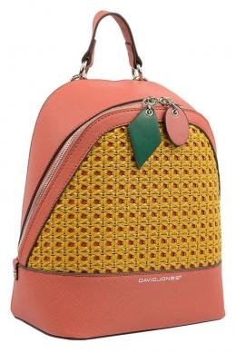 6246-3 BRICK RED Сумка-рюкзак David Jones
