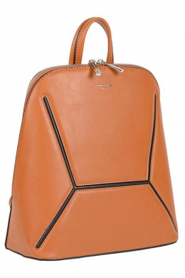 6261-2 COGNAC Сумка-рюкзак David_Jones