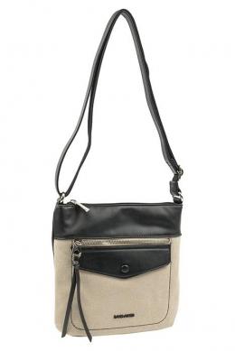 6293-1 BLACK Женская сумка кросс-боди David Jones