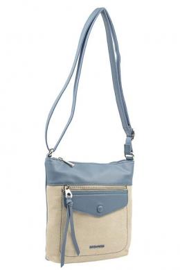 6293-1 BLUE JEAN Женская сумка кросс-боди David Jones