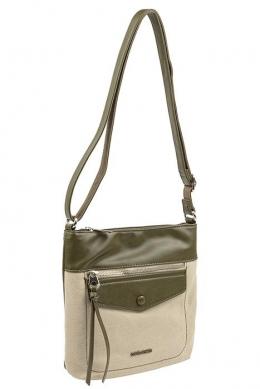 6293-1 D.GREEN Женская сумка кросс-боди David Jones