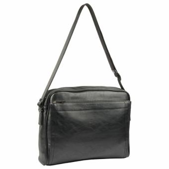 David Jones 686602 Black деловая сумка