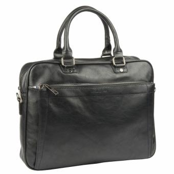 David Jones 686603 Black деловая сумка портфель