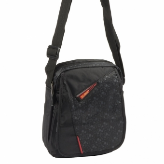 Olidik 05930 Black Red мужская мини сумка
