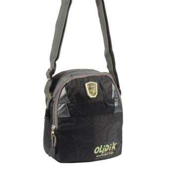 Olidik 05934 Black мужская мини сумка